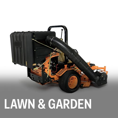 Lawn & Garden equipment, housings, tanks and more.