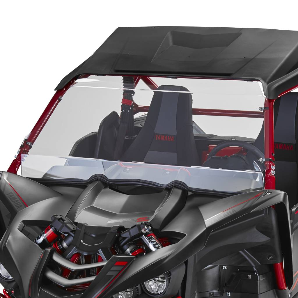 Polycarbonate and Acrylic line bending UTV windshield